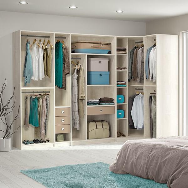 placards y vestidores megamuebles hogar y oficina. Black Bedroom Furniture Sets. Home Design Ideas